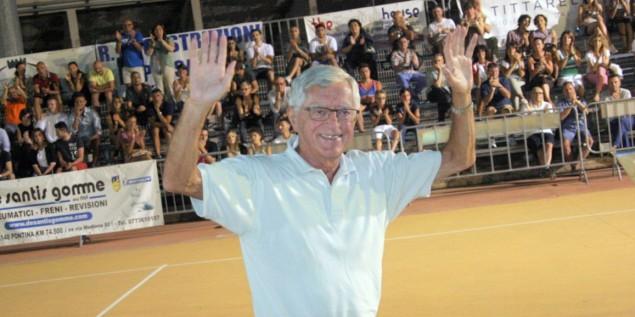 Valerio Bianchini, ex ct italia basket Tosarello