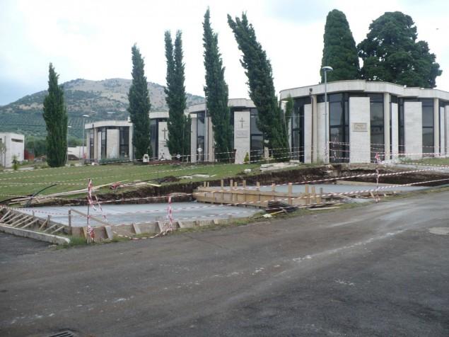 cimitero giulianello