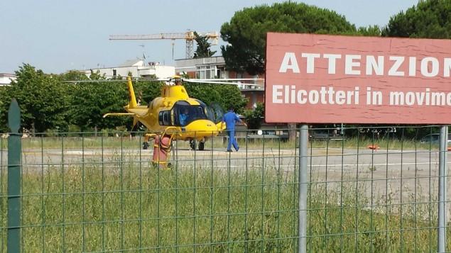 elicottero al goretti