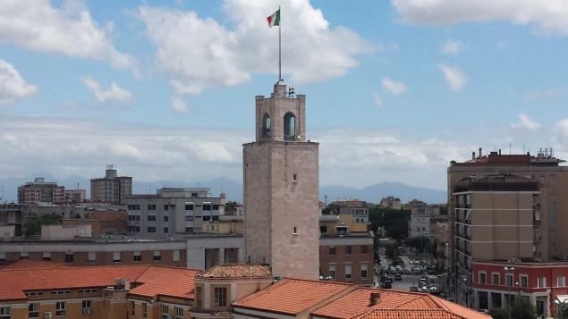 latina torre dall'altro