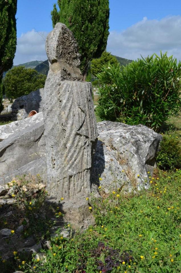 reperto archeologico terracina