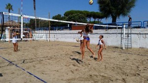 volley beach