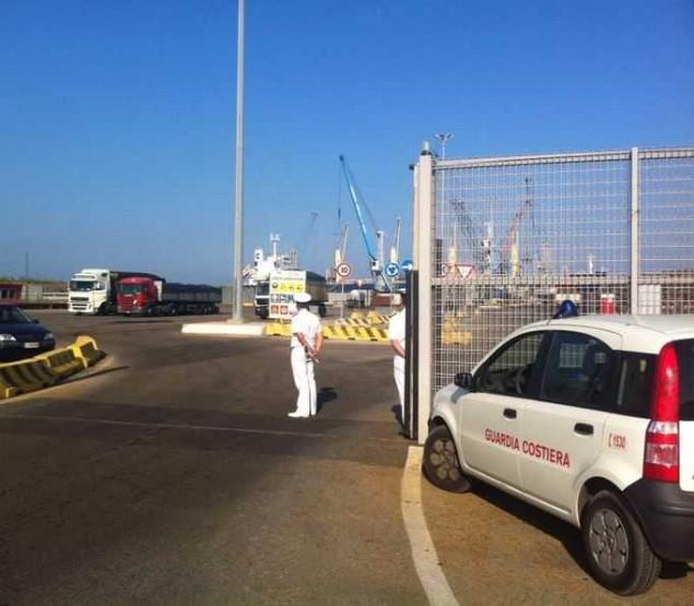 guardia costiera controlli pet coke