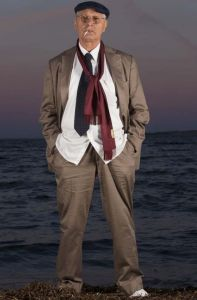 Antonio Pennacchi (Luisiana 2013) foto tratta dal sito ufficiale dello scrittore