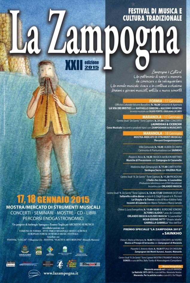 La Zampogna Locandina 2015