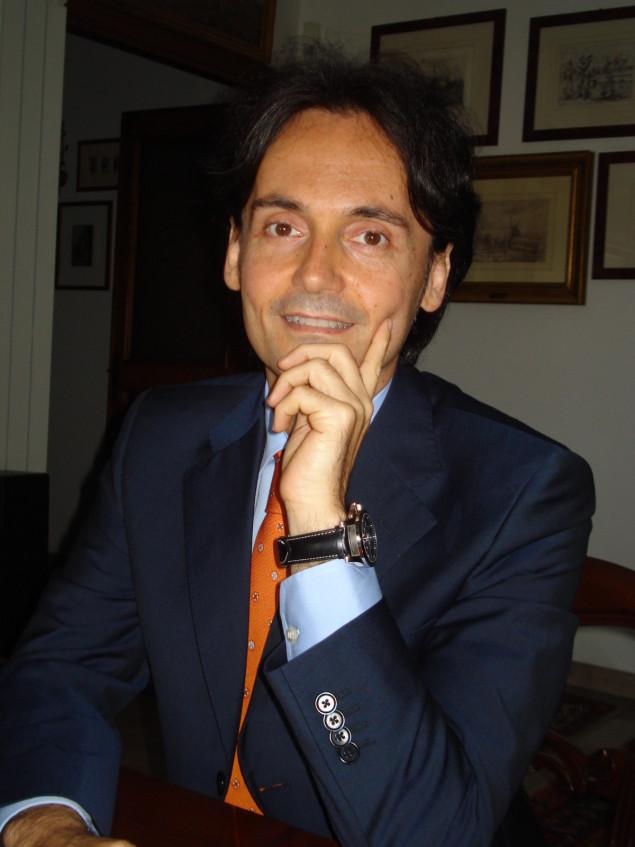 Il presidente dell'Ordine Efrem Romagnoli