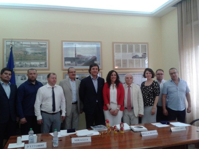 Incontro delegazione russa