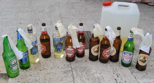bottiglie incendiarie
