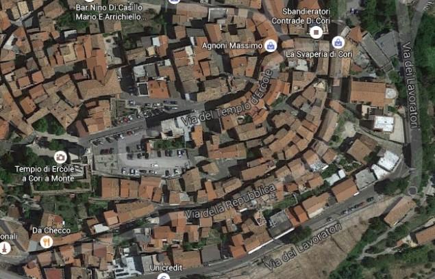 cori via dei lavoratori (google map)