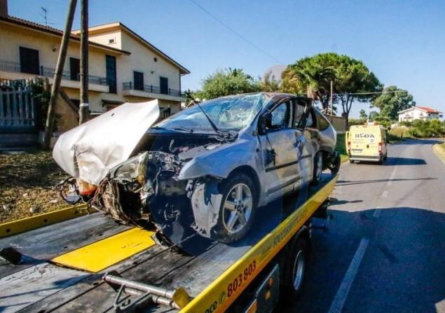 Incidente mortale Via del Genio Civile Aprilia 4 Luglio 2015 - EdeDPhotos/Enrico de Divitiis/www.provincialista.it