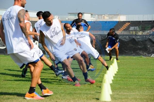 test atletici ieri allo stadio Francioni di Latina