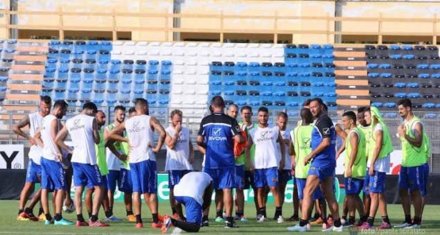 Allenamenti al Francioni (foto Us Latina Calcio)