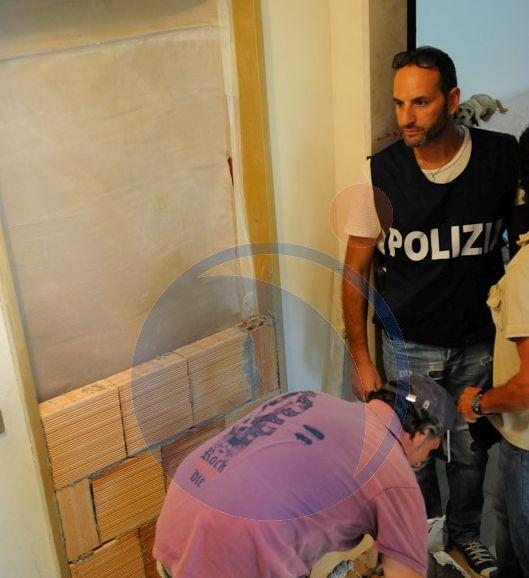 La polizia fa murare l'appartamento Ater occupato da  Travali dopo lo sgombero