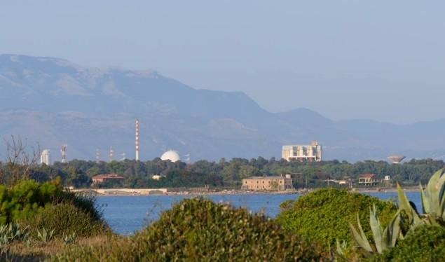 centrale sabotino vista da Torre Astura( foto Andrea Apruzzese)
