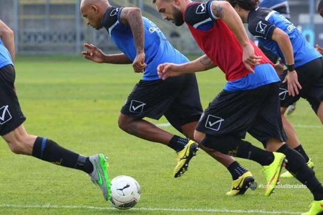 Latina Calcio allenamenti