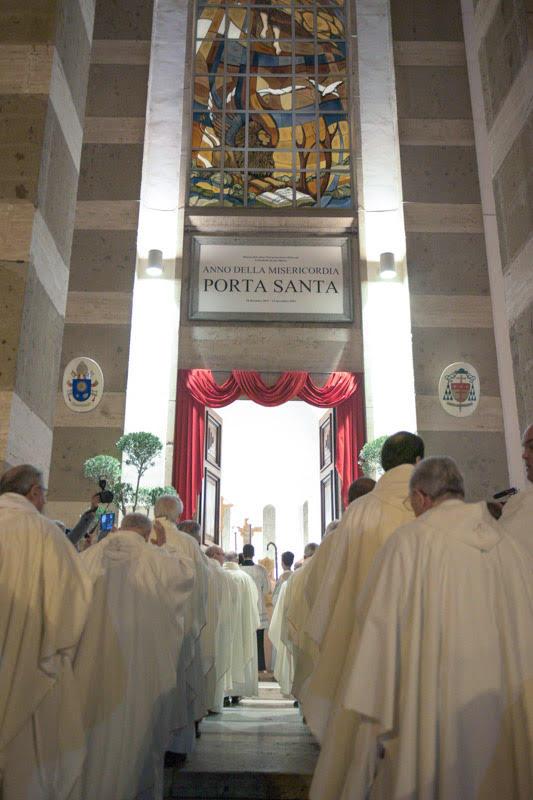 apertura porta santa centrale