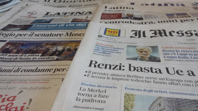 giornali 18