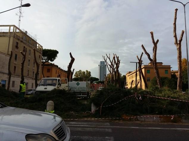 viale Italia ora è così