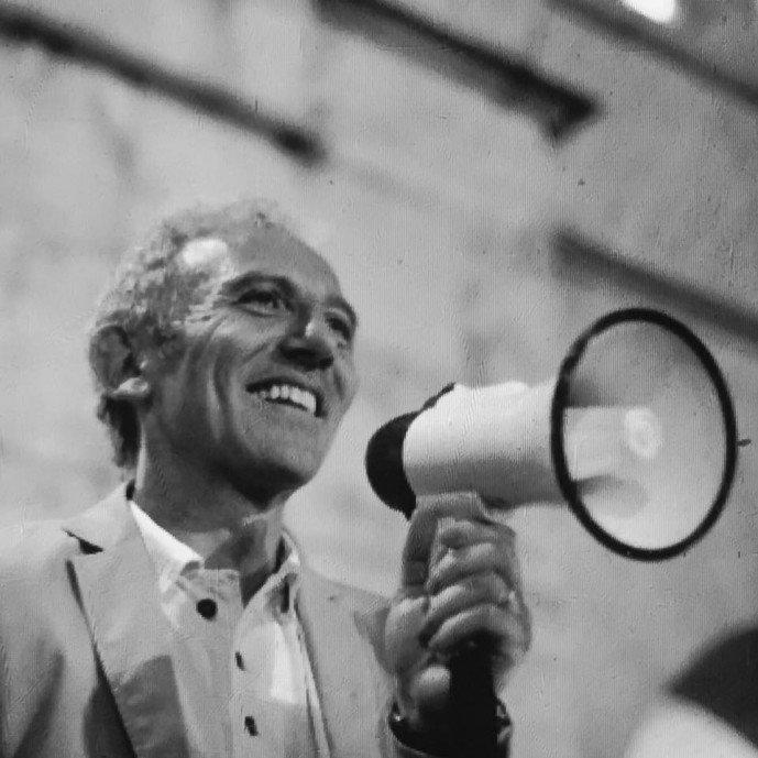 Damiano Coletta in un ritratto di Marcello Scopelliti (su Fb)