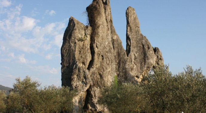 Il monumento naturale di Campo Soriano