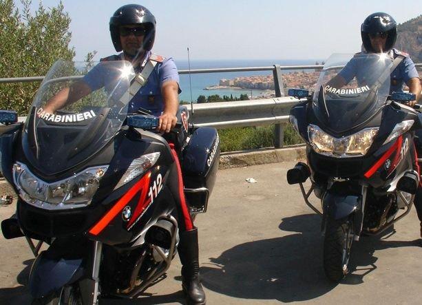 moto-carabinieri