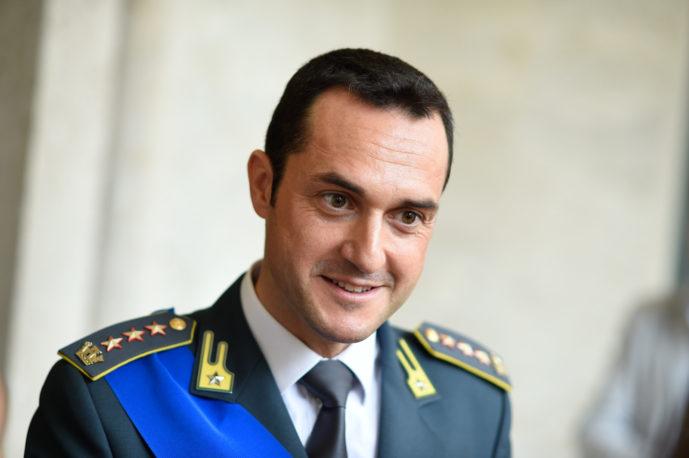 Il neo comandante provinciale della Guardia di Finanza Michele Bosco
