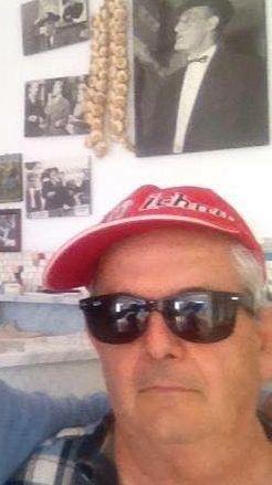 Gennaro in una foto recente postata su Fb dal figlio Pasquale