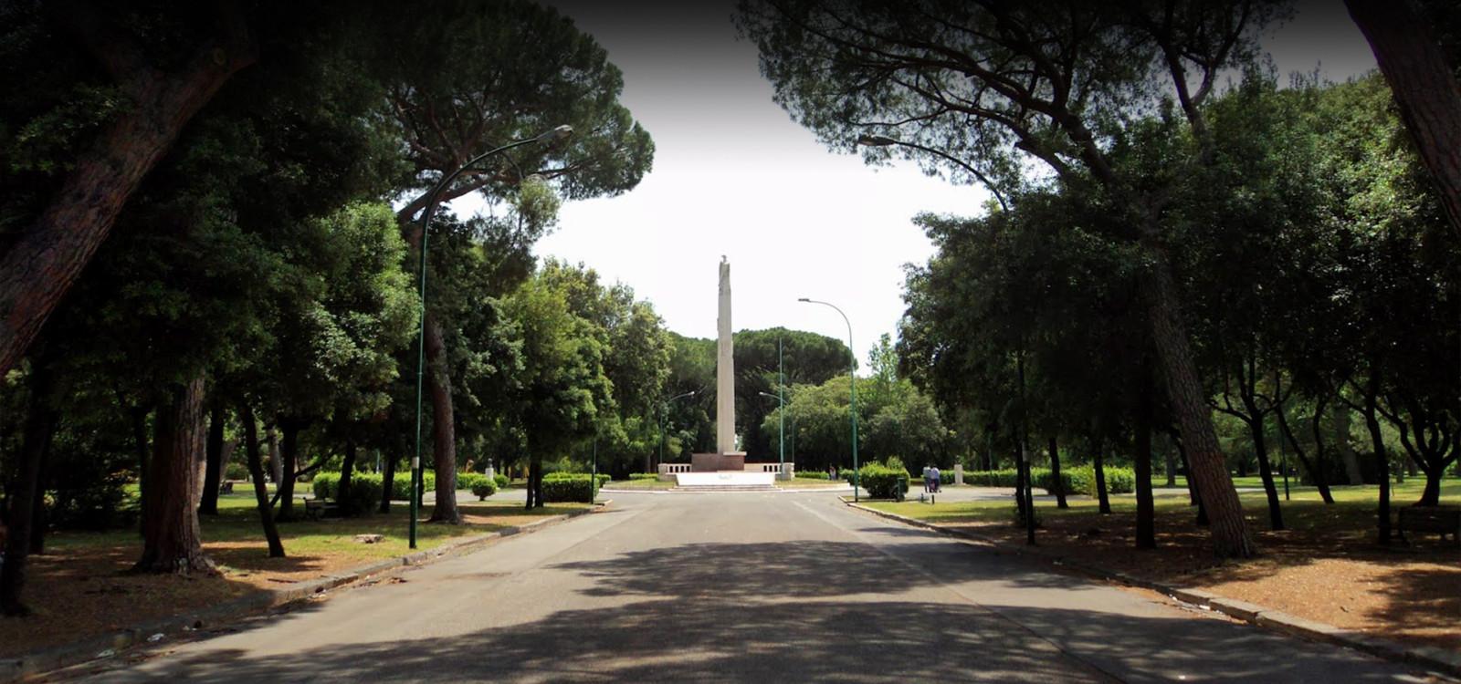 latina parco mussolini speeches - photo#1