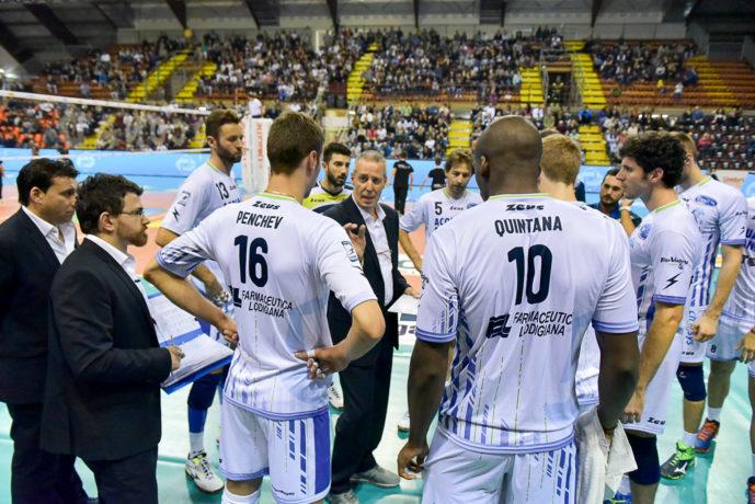 «Sir Safety Conad Perugia - Top Volley Latina» 11ª giornata SuperLega UnipolSai Campionato italiano di Pallavolo Maschile Serie A1