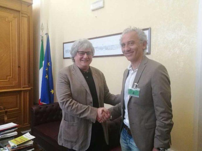 Il sindaco coletta incontra il presidente della for Lavori alla camera