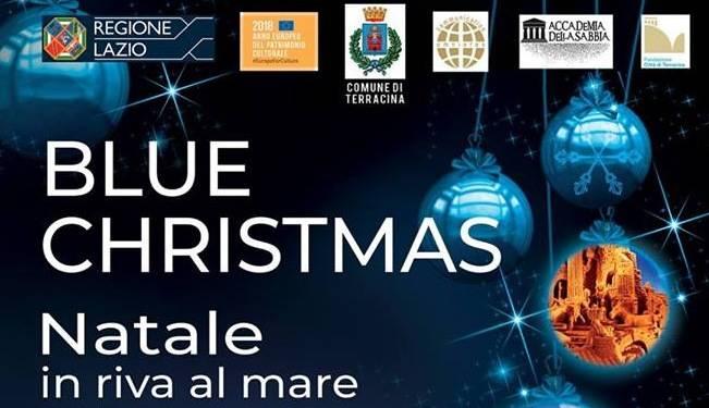 Natale Blue a Terracina con un grande Presepe di sabbia ? Luna Notizie ? Notizie di Latina