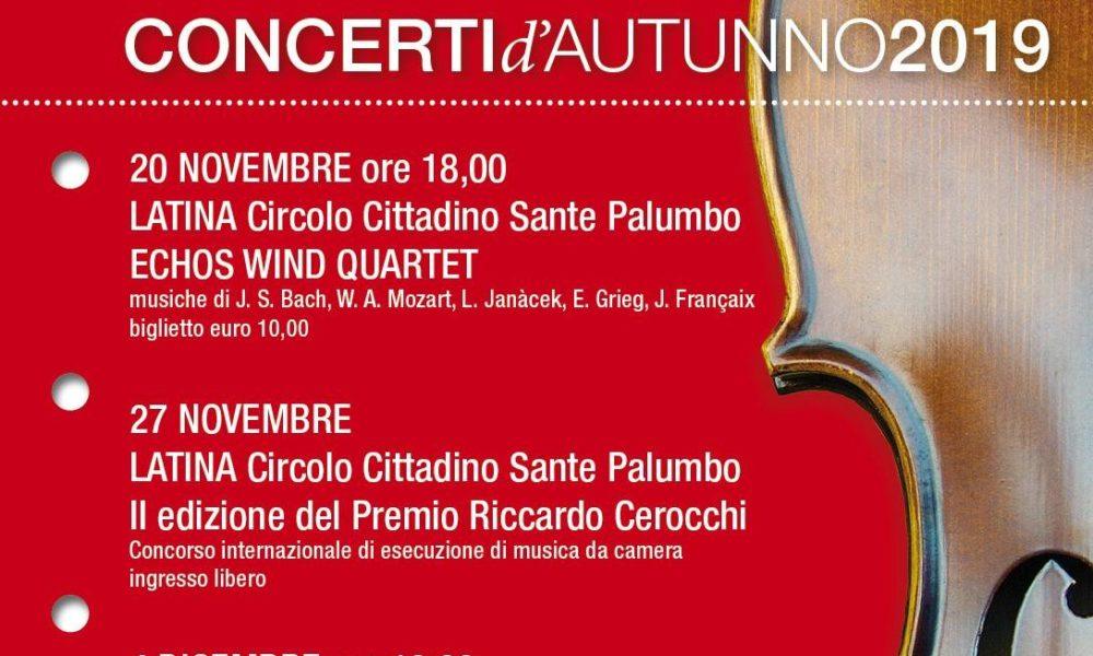 Concerti d'Autunno al Circolo Cittadino di Latina | Luna Notizie - Notizie di Latina - Lunanotizie
