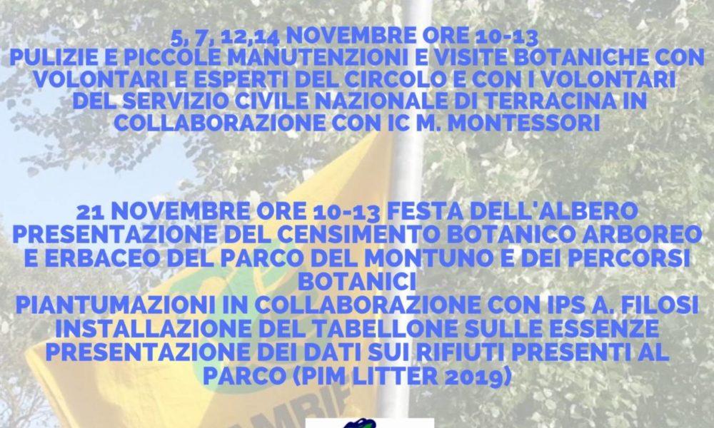Legambiente Terracina, festa dell'albero al Parco di Montuno | Luna Notizie - Notizie di Latina - Lunanotizie