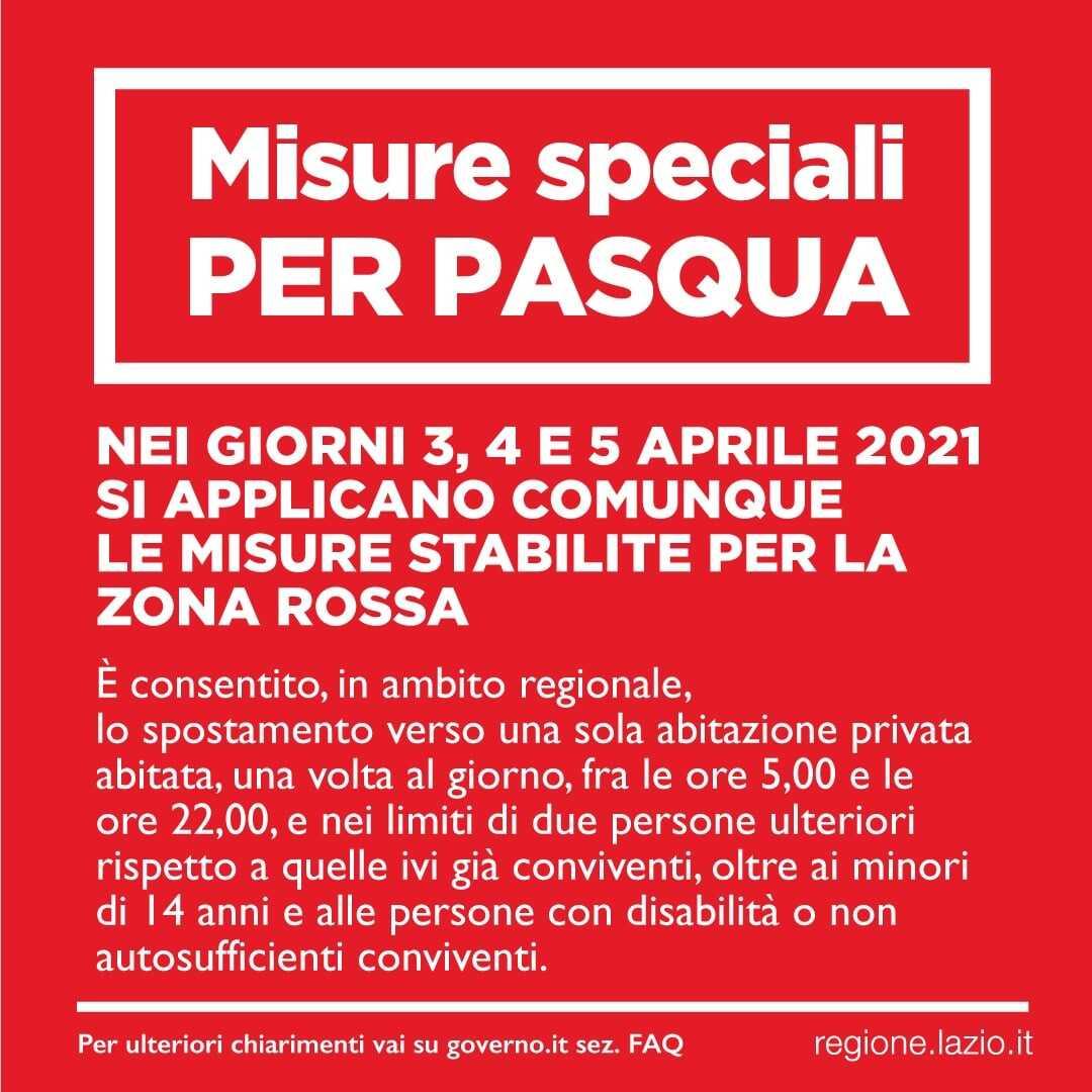 Italia zona rossa, regole per oggi 5 aprile