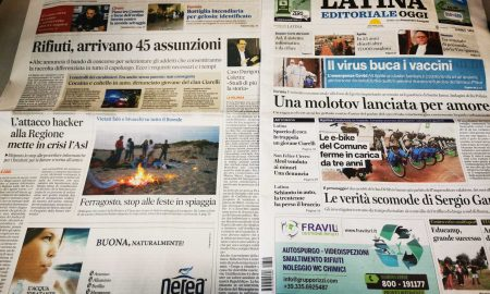 giornali quotidiani 14 agosto